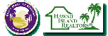 Combined, small logos of Kauai Board of Realtors (KBR) and Hawaii Island Realtors (HIR)