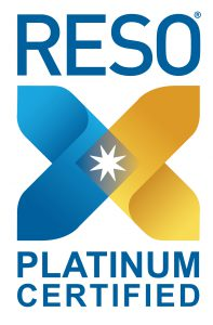 Platinum Certified Logo for RESO (Real Estate Standards Organization)