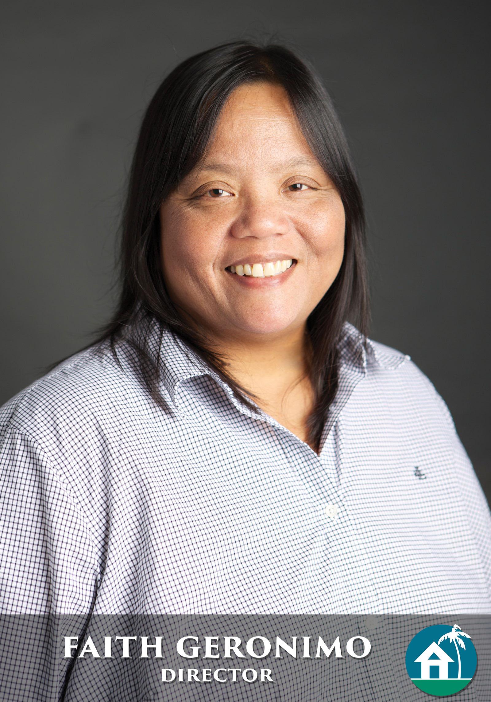 Board of Director, Faith Geronimo, on behalf of Hawaii Information Service