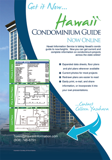 Ad for Condominium Guide now available at HIS