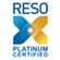 Platinum Certified Logo for RESO (Real Estate Standards Organization) - smaller 55x55 version