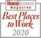 Hawaii Business Magazine Best Places to Work for 2020, Hawaii Information Service's fifth year in a row to be awarded