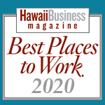 Hawaii Business Magazine Best Places to Work for 2019, Hawaii Information Service's fourth year in a row to be awarded